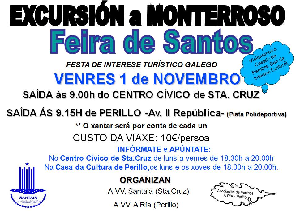 Excursión: Feria dos Santos de Monterroso