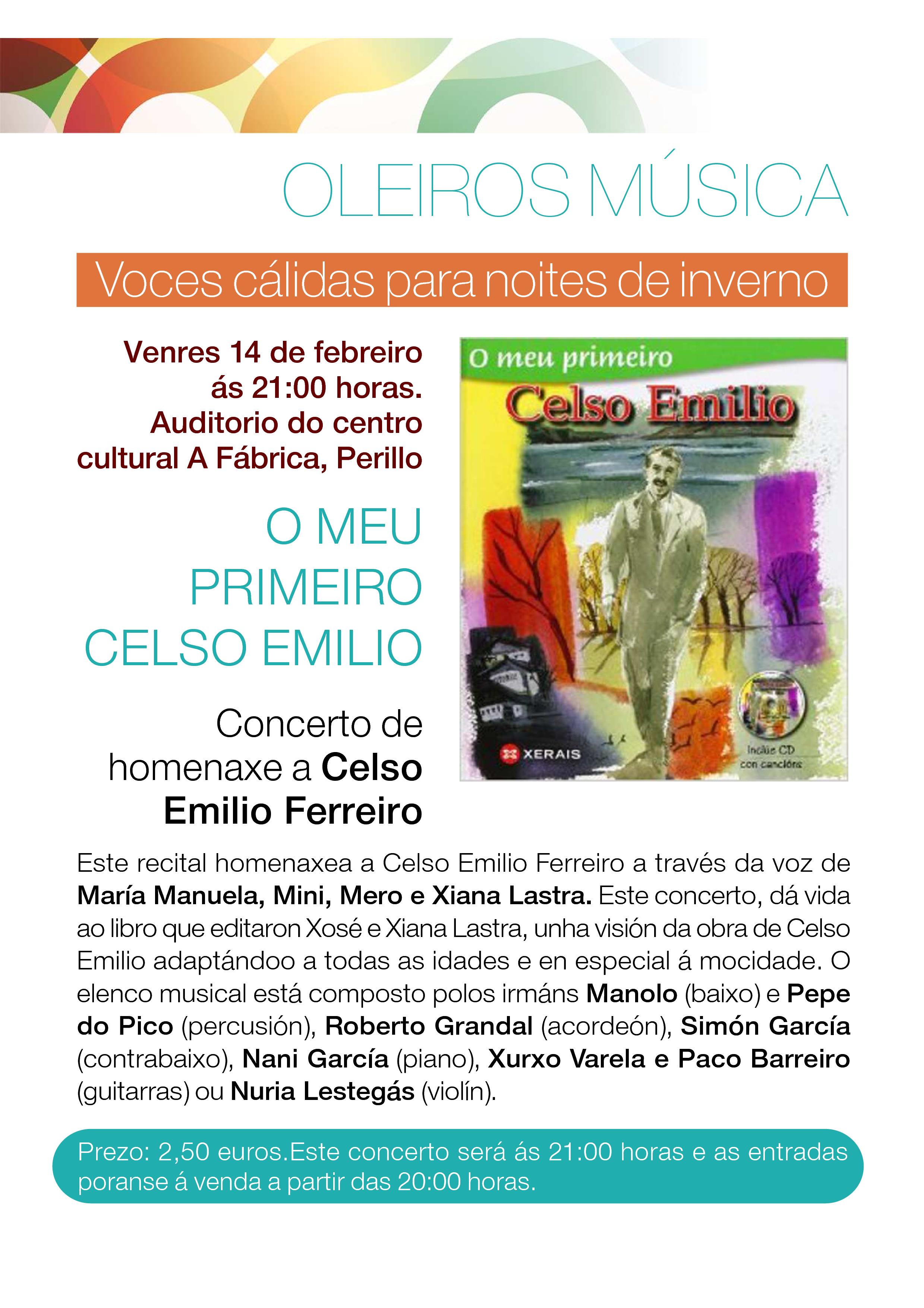 O meu primeiro Celso Emilio Ferreiro