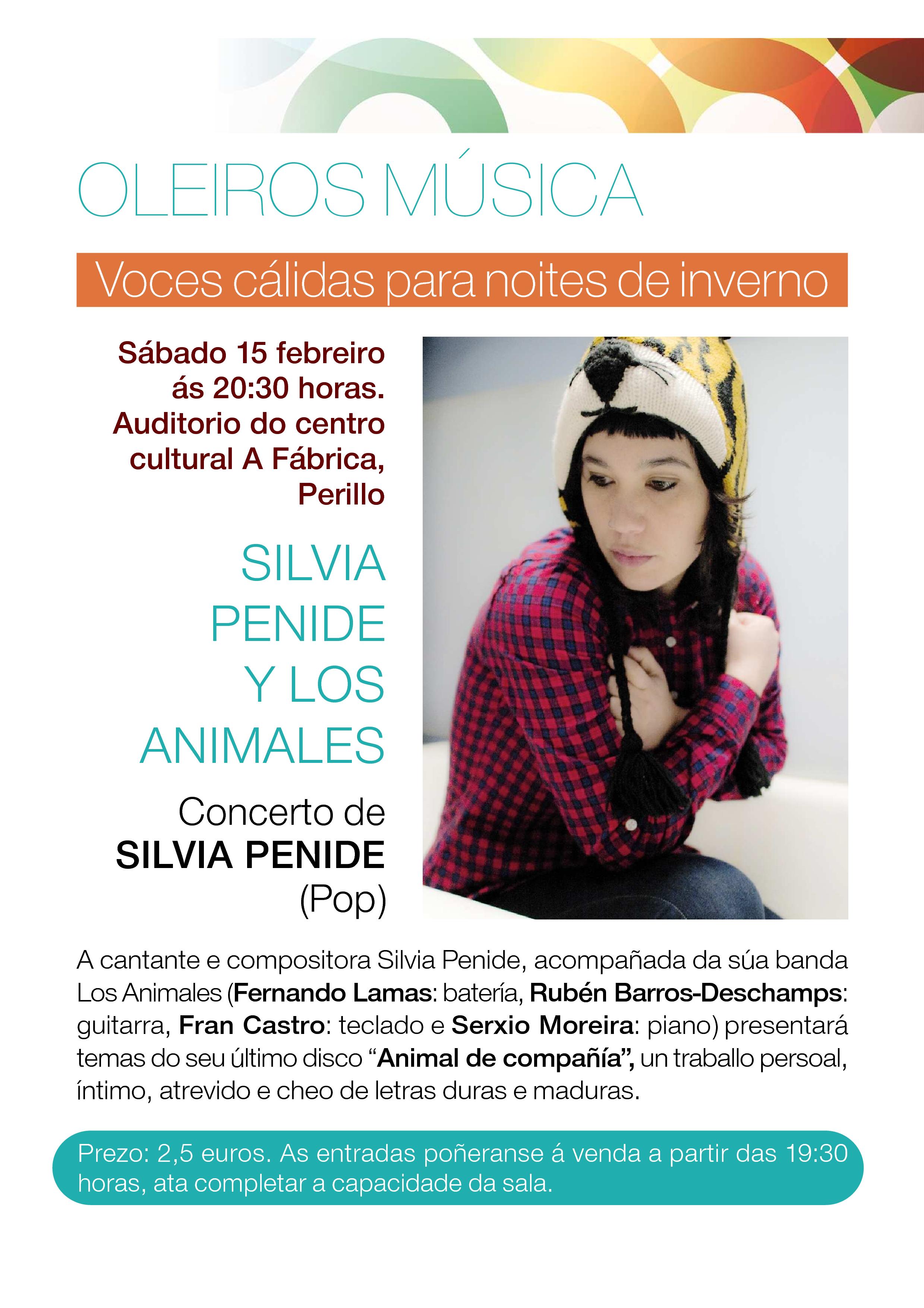 Silvia Penide en concierto