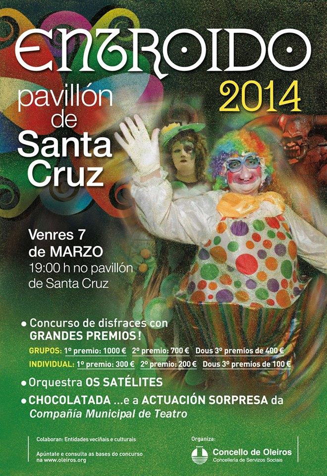 Gran Fiesta 30 Aniversario del Entroido dos Maiores en Santa Cruz