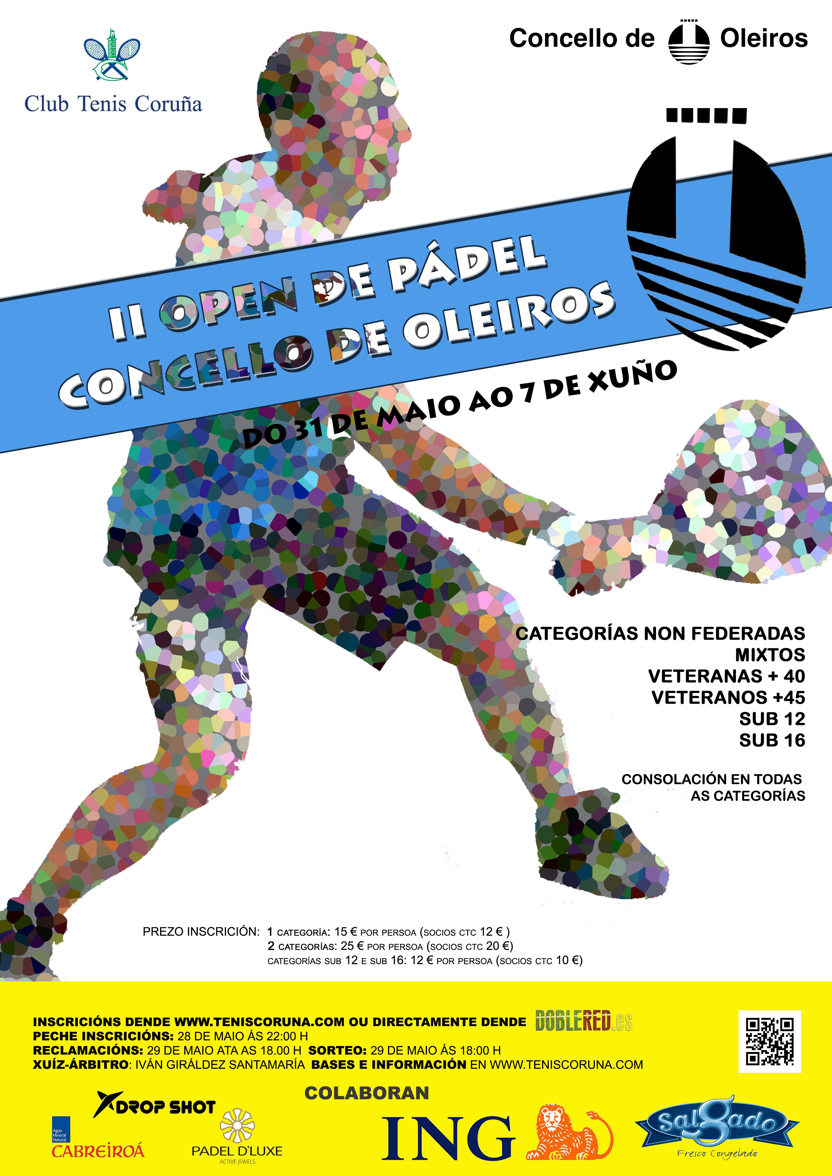 PADEL: II Open de Oleiros