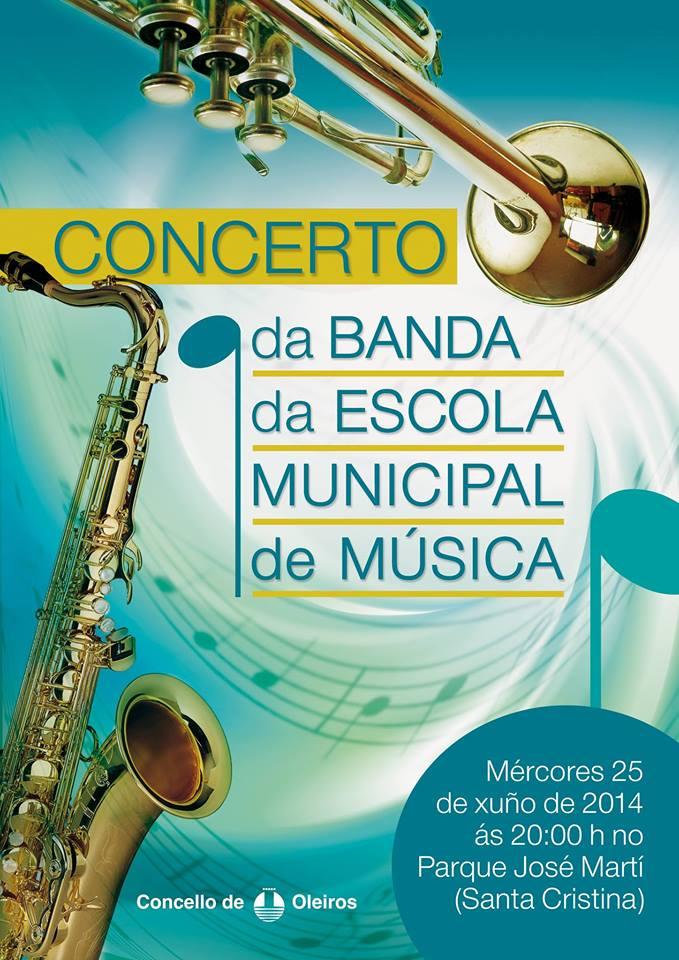 CONCERTO: Banda da Escola de Música