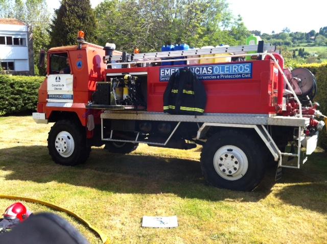 PELIGRO: Vienen los bomberos