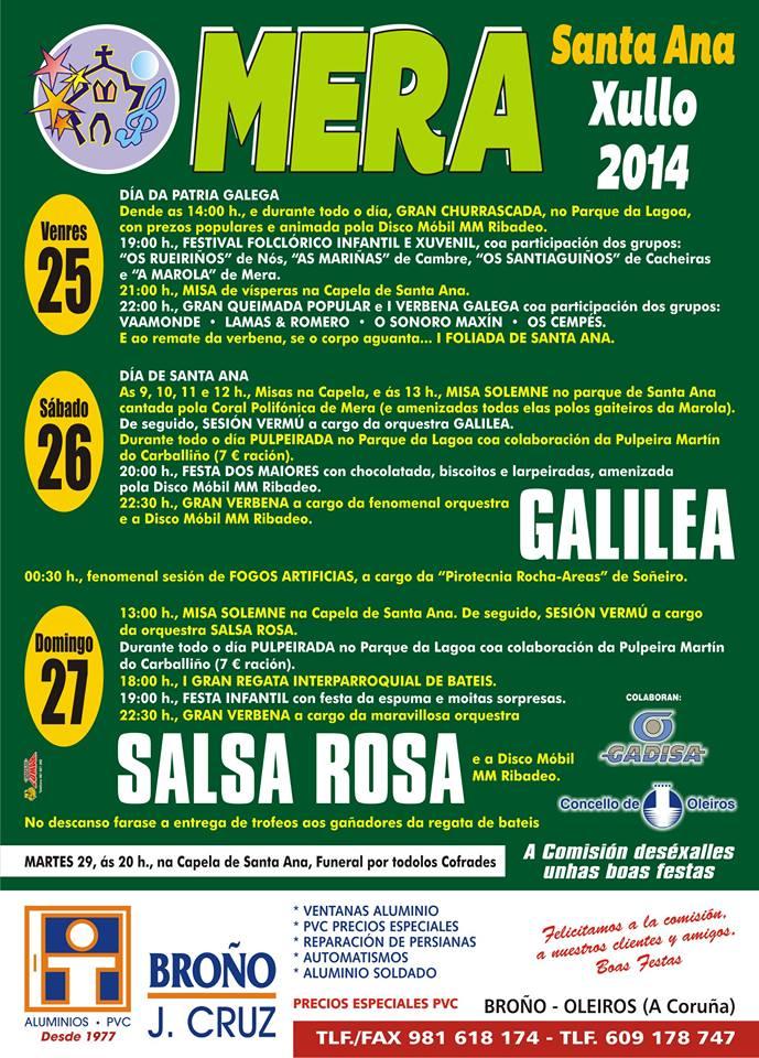 Santa Ana: Mera 2014