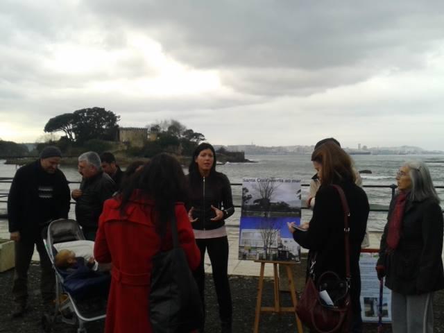 "Preséntase públicamente a iniciativa ""Santa Cruz aberta ao Mar"""