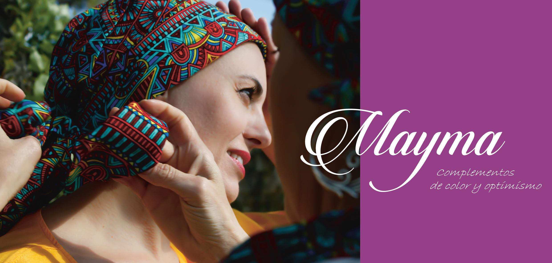 Pañuelos y Gorros para mujeres sin pelo por tratamientos oncológicos contra el cáncer como la quimioterapia