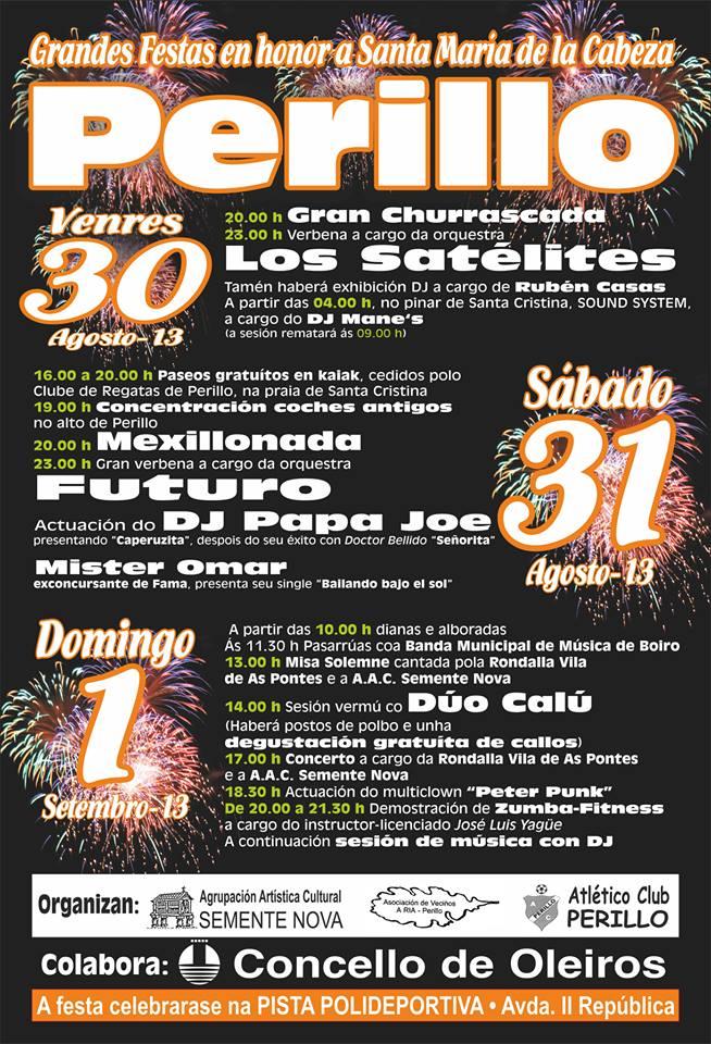 Festas en Perillo 2013