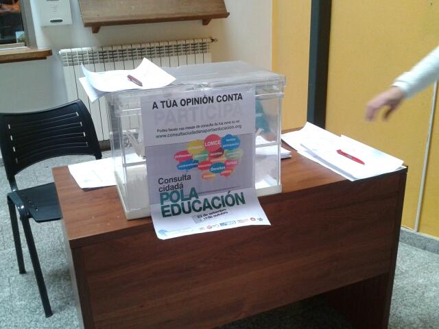 Consulta ciudadana por la educación