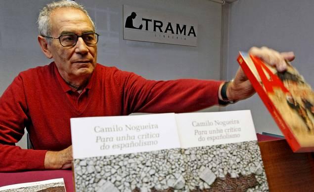 """Presentación do libro: """"Para unha crítica do españolismo""""; de Camilo Nogueira"""