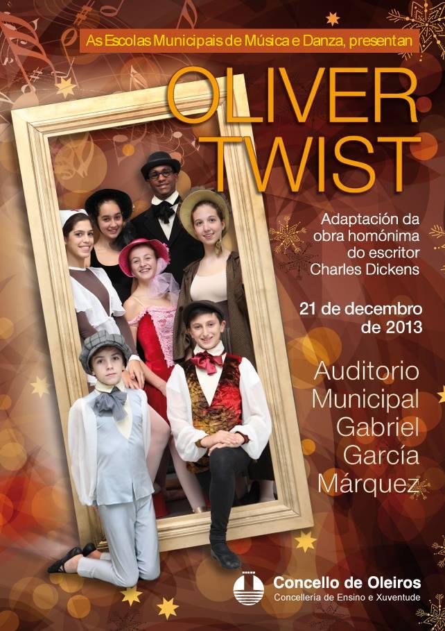"""Escolas Municipais de Música e de Danza: """"Oliver Twist"""""""
