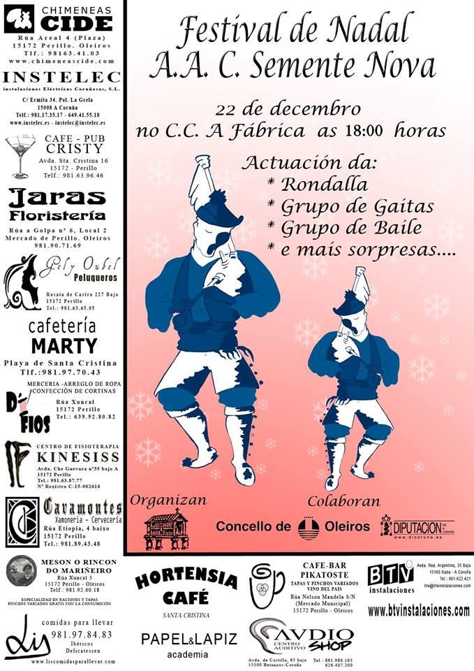 "Festival de Nadal ""AAC Semente Nova"""