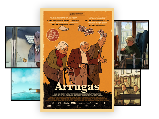 Arrugas cierra el Ciclo de Cinema en Oleiros