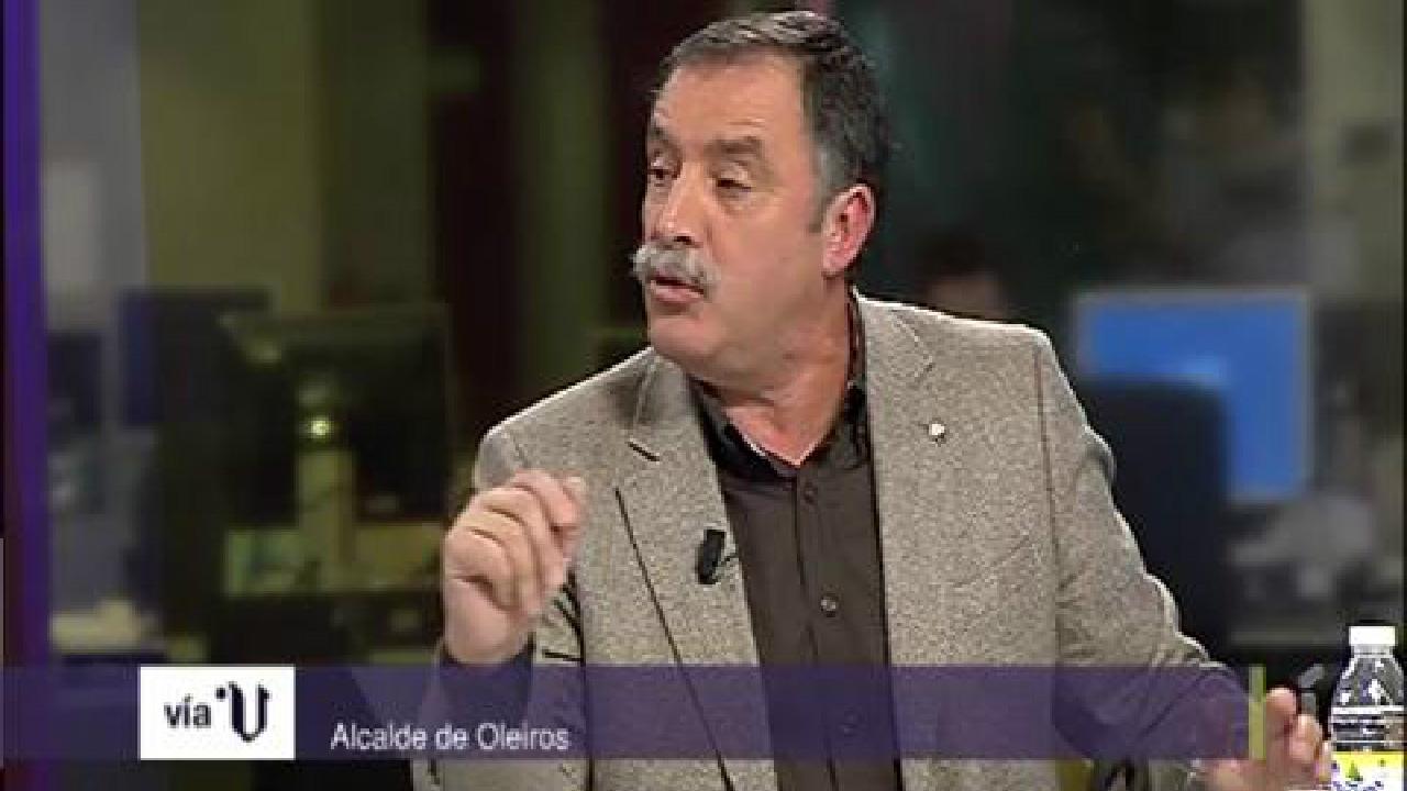 Entrevista a Ángel García Seoane en V Televisión