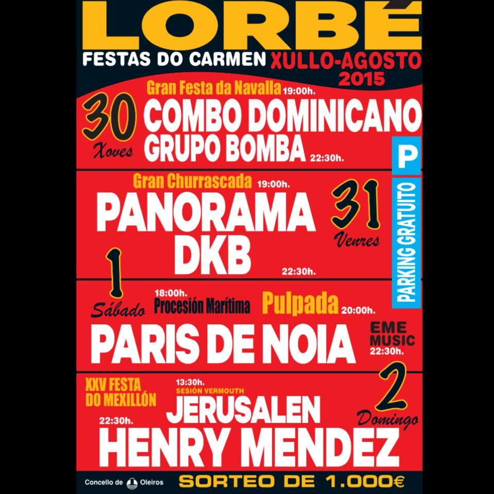 Festas de Lorbé 2015