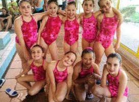 Aquatic: Mejor equipo gallego de base en natación sincronizada
